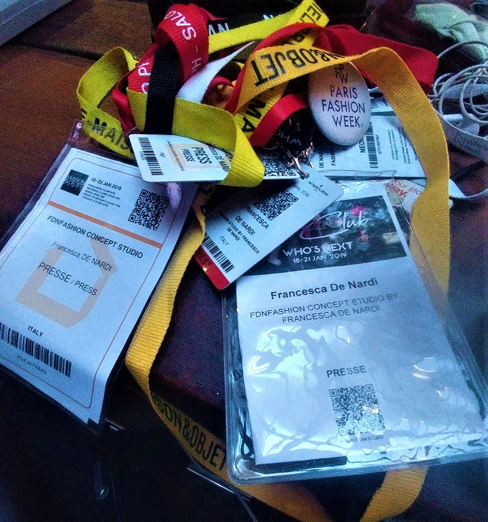 badge fiere fashion week roma milano parigi